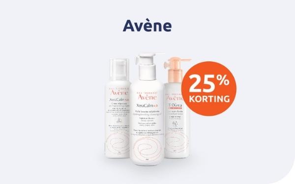 BENU Shop 25% procent korting Avène Oktober November 2021